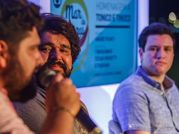 César Menotti e Fabiano participaram do evento (Foto: divulgação)