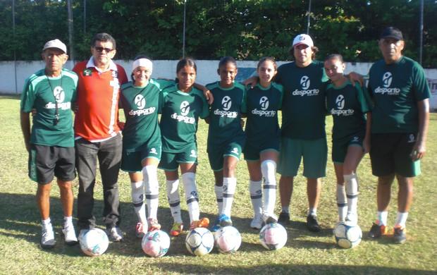 Meninas da Escolinha de Esportes da Emlurb são convocadas para Seleção Brasileira (Foto: Thaís Jorge)