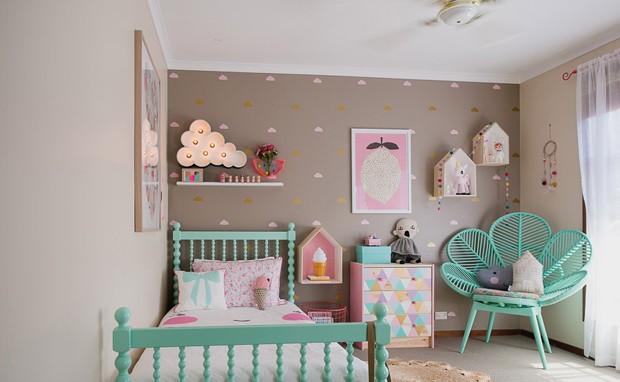 D cor do dia quarto infantil e irreverente casa vogue - Dormitorios infantiles ninos 7 anos ...