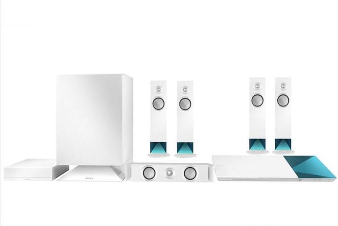 Home theater integrado padrão comum 5.1 com caixas sem fio (Foto: Divulgação/Sony)