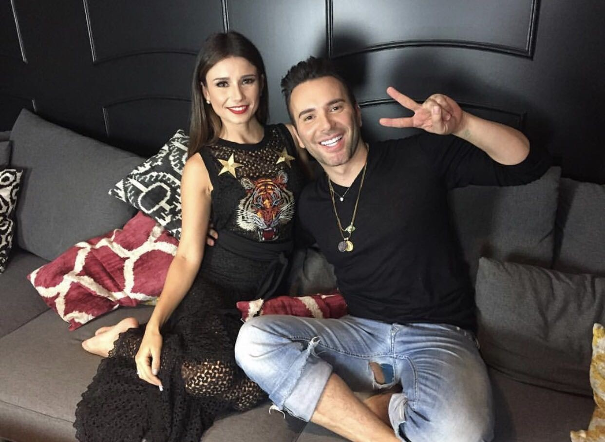 Paula Fernandes com Matheus Mazzafera (Foto: Divulgação)