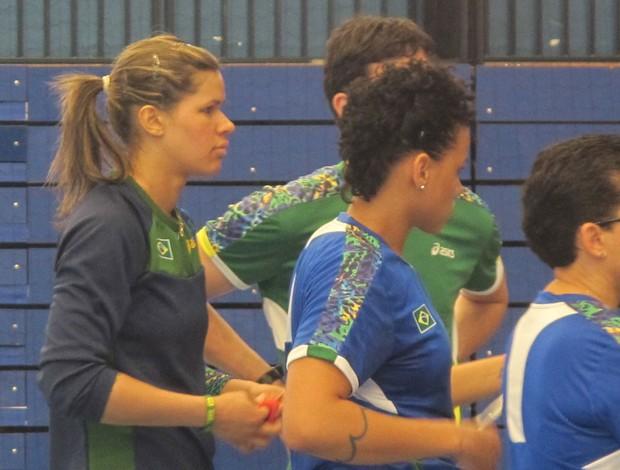 mayssa handbol londres 2012 (Foto: Cahê Mota/Globoesporte.com)