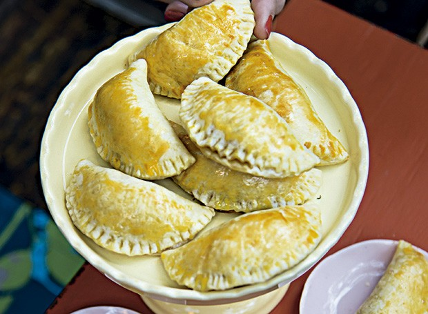 Pasteizinhos de parma com maçã (Foto: Cacá Bratke/Editora Globo)