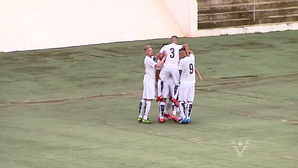 Santos marca 1 a 0 em cima do Confiança-SE (Foto: Reprodução/TV Tribuna)