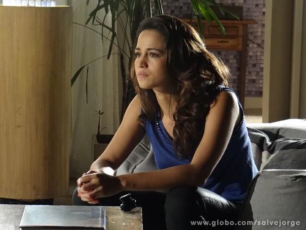 Morena afirma que vai ter sua vida de volta (Foto: Salve Jorge/TV Globo)