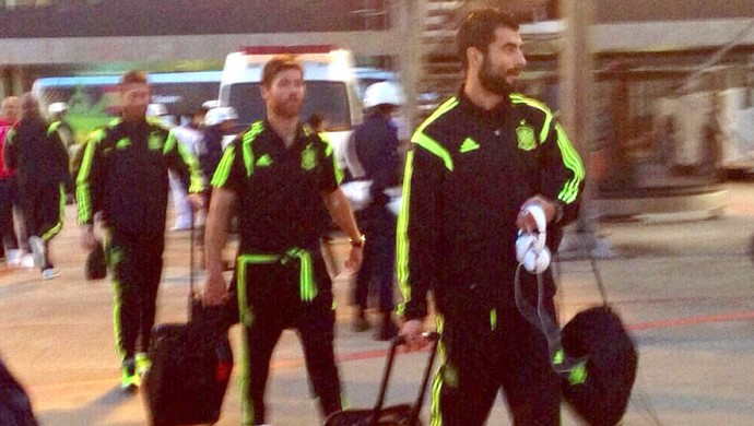 Embarque Espanha (Foto: Reprodução / Twitter)