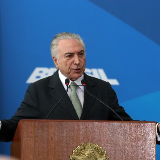 O presidente Michel Temer (Foto: Antonio Cruz/Agência Brasil)
