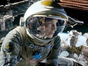 Sandra Bullock em 'Gravidade' (Foto: Divulgação)