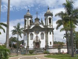 Igreja de São Francisco São João del Rei (Foto: Reprodução/ TV Integração)