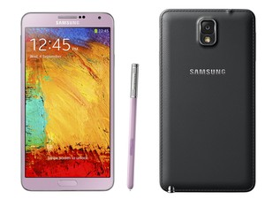 Detalhe do phablet Galaxy Note 3 (Foto: Divulgação/Samsung)