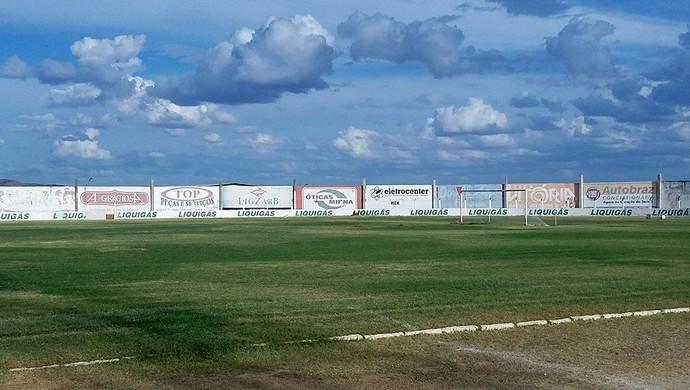 Estádio Marizão, em Caicó (Foto: Eduardo Dantas)