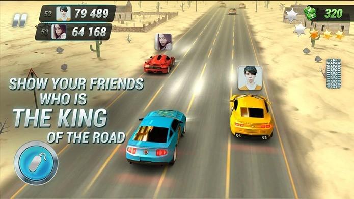 Jogo de corrida casual, mas com ótimos gráficos no Android (Foto: Divulgação)
