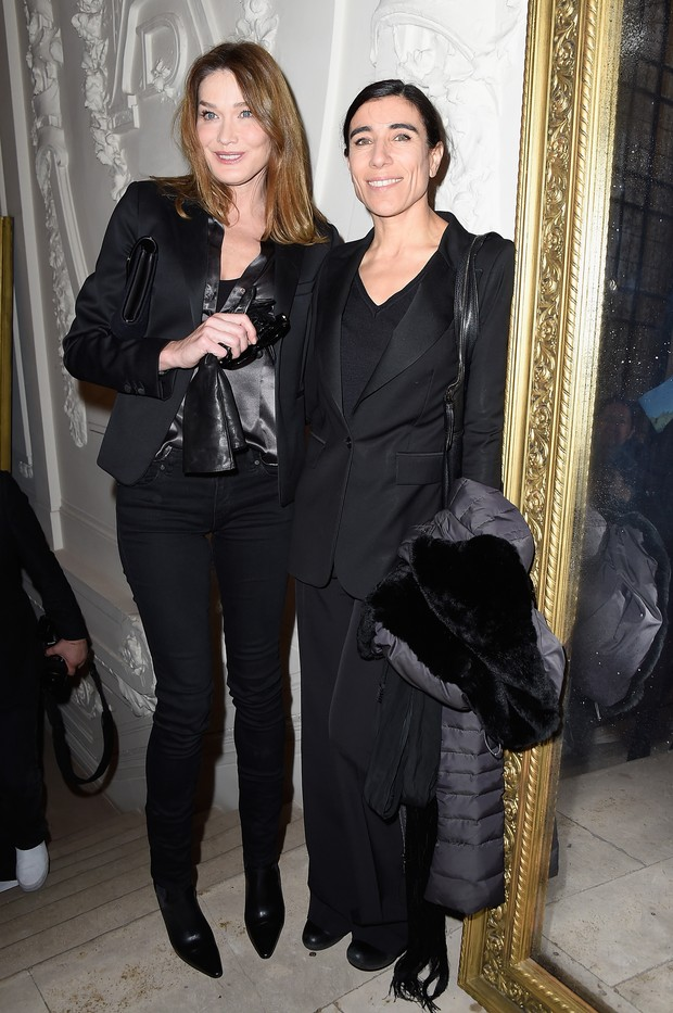 Carla Bruni e Bianca Li (Foto: Getty Images)