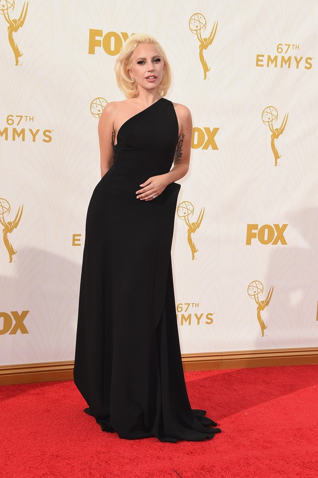 EMMY 2015 - Lady Gaga (Foto: Getty Images)