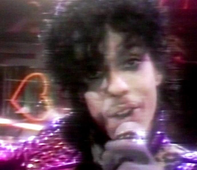 Prince foi homenageado no Vídeo Show (Foto: TV Globo)