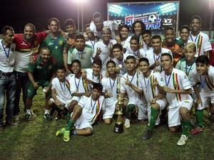 Sampaio Sub-17 já garantiu vaga na etapa final da competição (Foto: Paulo de Tarso Jr.)