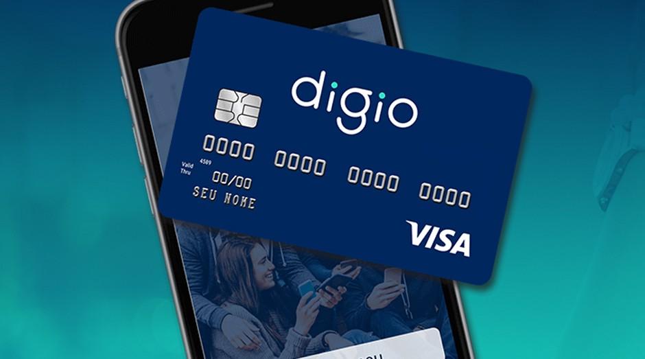 Digio: cartão de crédito é totalmente virtual (Foto: Reprodução)