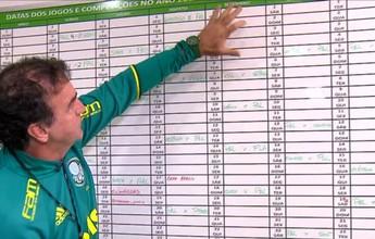 BLOG: Cuca tem a missão de melhorar o desempenho histórico do Palmeiras na reta final. Retrospecto indica vantagem de Galo e Flamengo sobre o time paulista