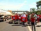 Contra impeachment, MST bloqueia Rodovia Anhanguera em Ribeirão
