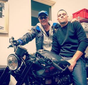 Nate Diaz; Van Damme;  (Foto: Reprodução/ Instagram)