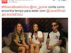Encontro de Lexa e Anitta na TV mexe com fãs na internet
