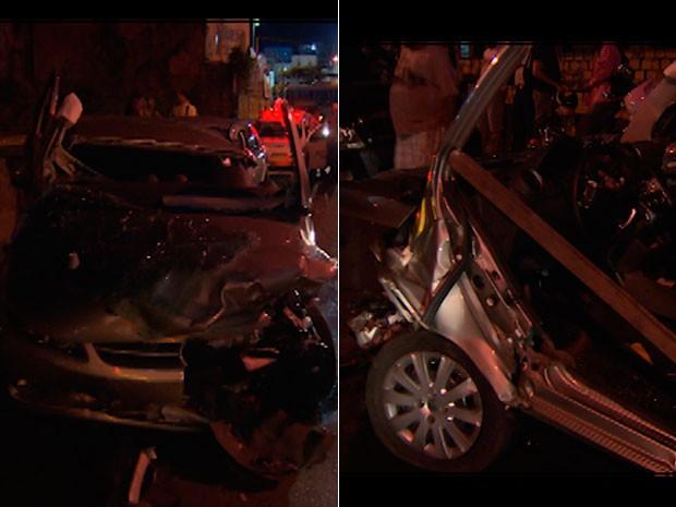 Acidente ocorre após homem passar mal Salvador Bahia (Foto: Reprodução/TV Bahia)
