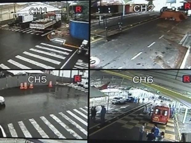 Central de monitoramente poderá acionar polícia ou resgate em caso de emergência (Foto: Reprodução TV TEM)