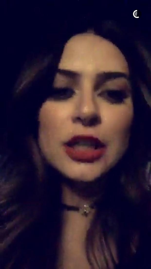 Thaila Ayala (Foto: Reprodução/Snapchat)