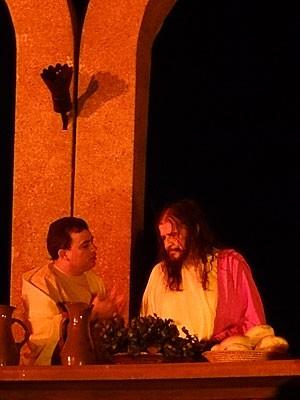 Paixão de Cristo do Recife (Foto: Luna Markman / G1)