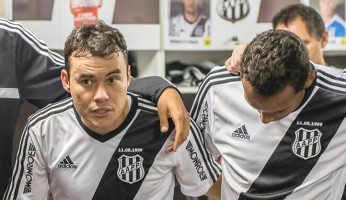 Renato Cajá meia Ponte Preta (Foto: Fábio Leoni / PontePress)