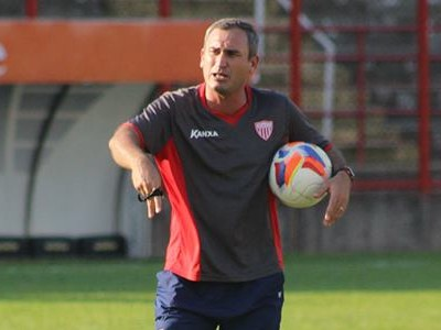 Geraldo Meira técnico Mogi Mirim (Foto: Geraldo Bertanha / Mogi Mirim)