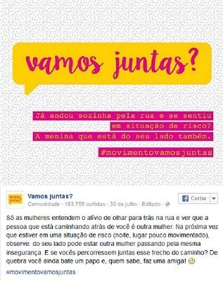 0880701981f51 G1 - Criadora do  Vamos juntas   lança campanha para financiar ...