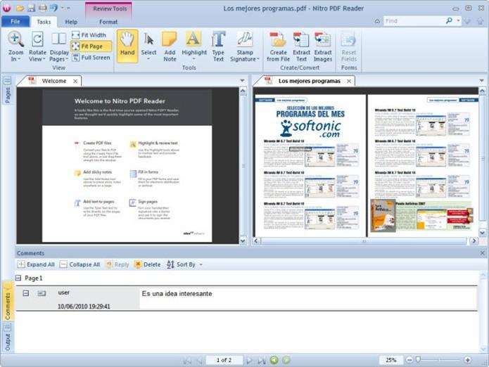 Nitro PDF Reader também conta com várias ferramentas úteis (Foto: Divulgação;/Nitro PDF Reader)