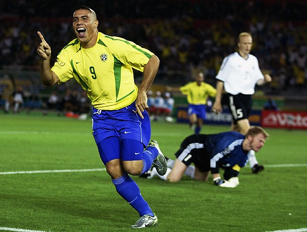 Ronaldo Copa 2002 (Foto: Getty Images)