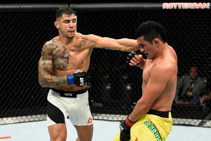 Aleksandar Rakic x Francimar Bodão UFC Roterdã (Foto: Getty Images)