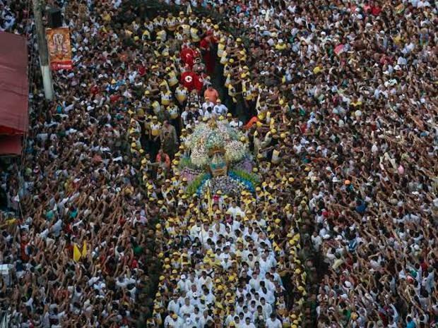 Círio de Nazaré. Cerca de 2 milhões de pessoas participaram do espetáculo religioso em Belém.  (Foto: Tarso Sarraf/ O Liberal)