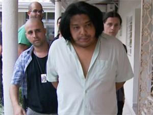 'Cadinho' foi preso em Indaiatuba, SP (Foto: Reprodução / EPTV)