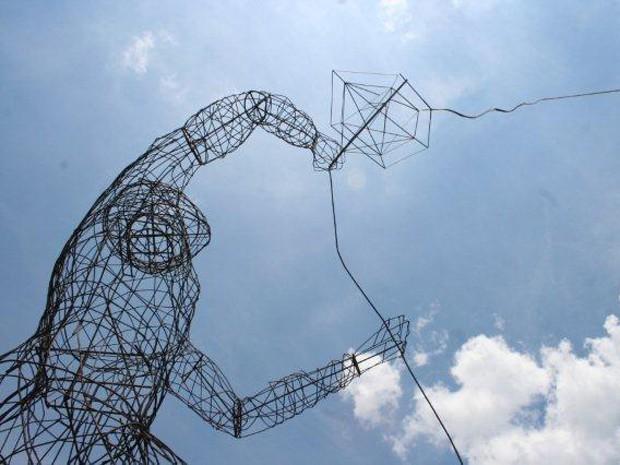 Monumento em homenagem a Toninho do PT, em Campinas (Foto: Arnaldo Silva)
