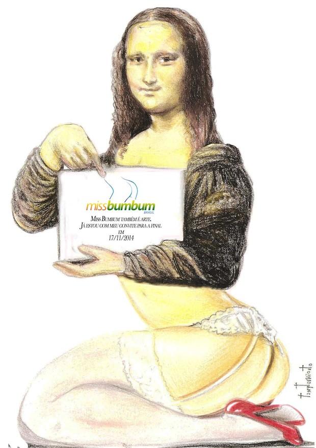 Monalisa no Miss Bumbum (Foto: Divulgação)