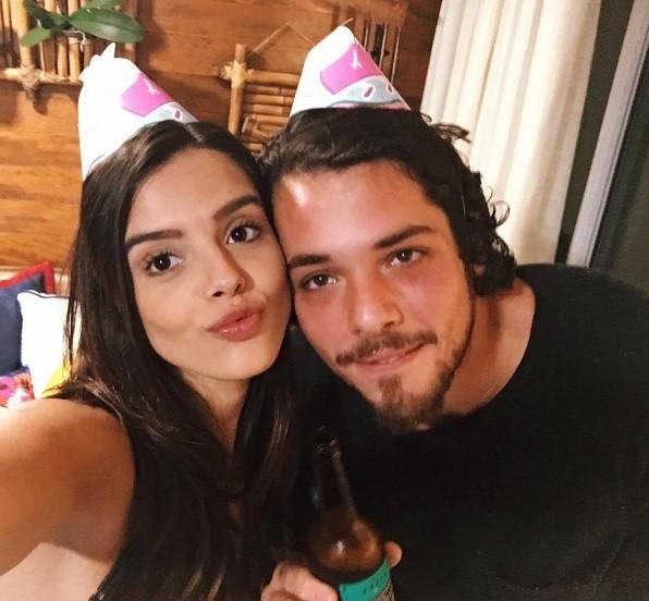 Giovanna Lancellotti e o namorado (Foto: Reprodução / Instagram)
