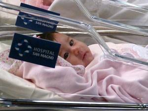 Bebezinha salvou sua vida (Foto: Amor à Vida/TV Globo)