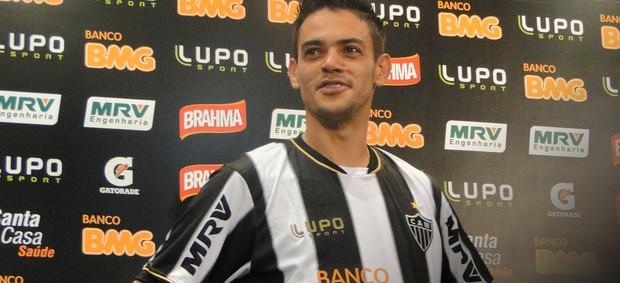 Josué Atlético-MG apresentação (Foto: Fernando Martins)
