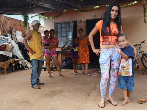 Após promessa de novo emprego, Ana sonha em comprar casa própria (Foto: Rodolfo Tiengo/G1) (Foto: Rodolfo Tiengo/G1)