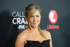Jennifer Aniston em première em Los Angeles, nos Estados Unidos (Foto: Jason Merritt/ Getty Images/ AFP)
