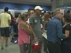 Agências da Caixa têm filas no 1ª dia de saque do FGTS no Sul de Minas