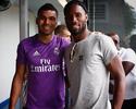 """Drogba visita o Real no Canadá e  exalta CR7: """"Merece a Bola de Ouro"""""""