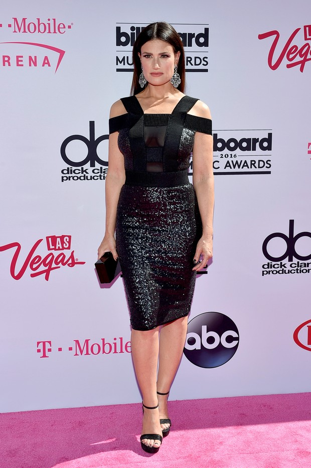 Idina Menzel no Billboard Music Awards (Foto: AFP)