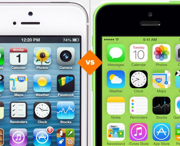 iPhone 5 ou iPhone 5C? Descubra qual smartphone da Apple é o melhor para comprar (Foto: Arte/TechTudo)