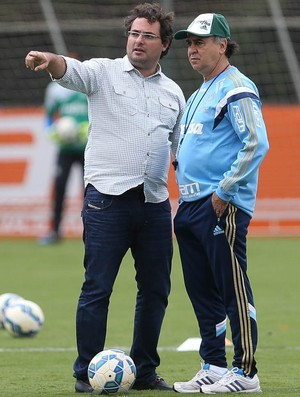 Alexandre Mattos Marcelo Oliveira (Foto: Cesar Greco/Ag Palmeiras/Divulgação)