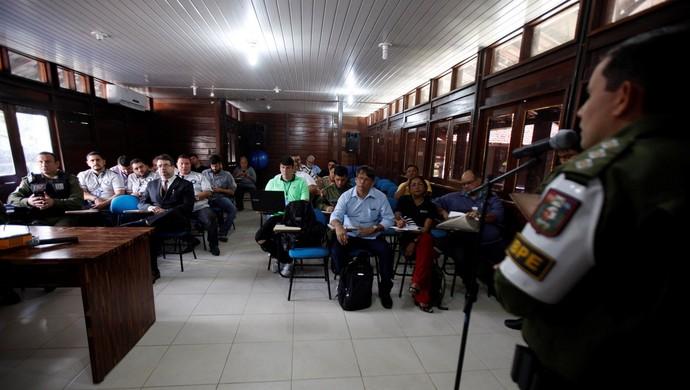 Entrada antecipada do torcedor é primordial para esquema de segurança do RE-PA (Foto: Rodolfo Oliveira/Agência Pará)
